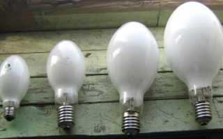 Схема включения лампы дрл