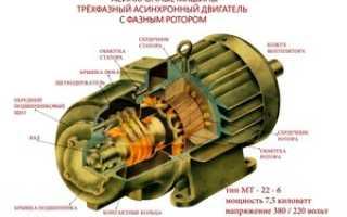 3х фазный двигатель