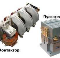 Магнитный пускатель 220в схема подключения