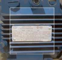 Как рассчитать ток двигателя