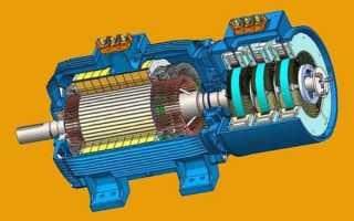 Конструкция асинхронного двигателя