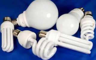 Если разбилась энергосберегающая лампа
