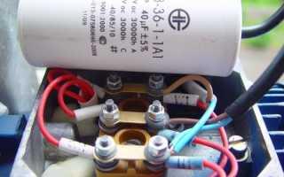 Асинхронный двигатель подключение на 220
