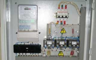 Счетчик через трансформаторы тока