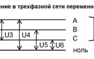 Схема звезда треугольник электродвигателя