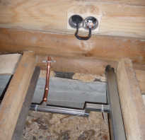 Какую проводку выбрать для деревянного дома