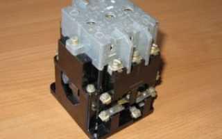Подключение электромагнитного пускателя