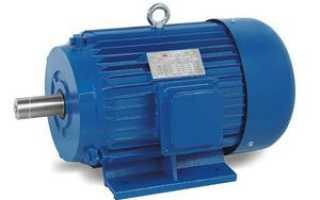 Электродвигатель с фазным ротором