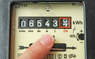 Как считать показания электросчетчика