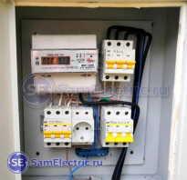 Как собрать электрощиток в частном доме 220в
