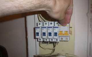 Двухполюсный автоматический выключатель схема подключения