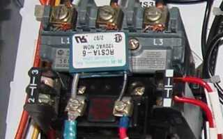 Как сделать реверс на трехфазном двигателе
