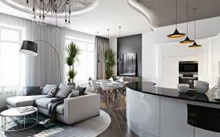 Схема однокомнатной квартиры