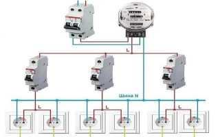 Обозначение электрических элементов