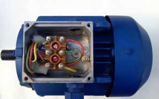 Как подключить двигатель через конденсатор