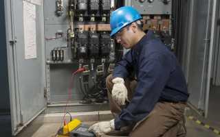 Проверка сопротивления изоляции проводов и кабелей