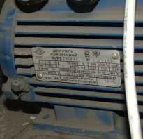 Подключение асинхронного электродвигателя на 380