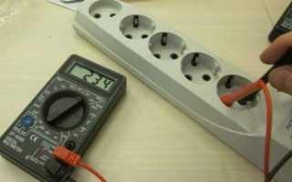 Как проверить 220 вольт мультиметром