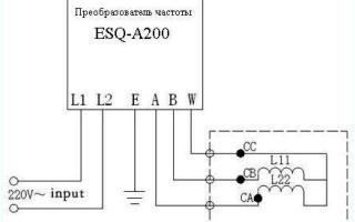 Включение трехфазного двигателя в однофазную сеть