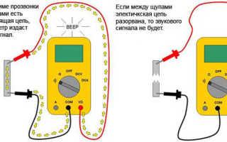 Как проверить мультиметром провод на разрыв
