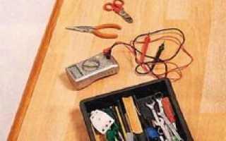 Монтаж открытой электропроводки