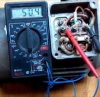 Как проверить трехфазный двигатель мультиметром
