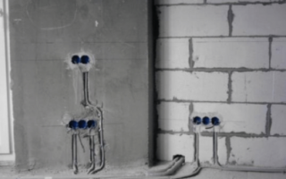 Схема прокладки электропроводки в квартире