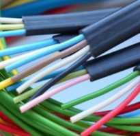 Подключение проводов по цветам