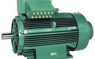 Однофазный двигатель переменного тока