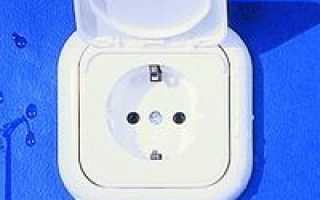 Электрика в ванной комнате