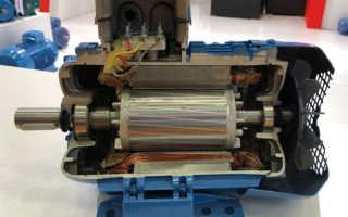 Асинхронный электродвигатель с фазным ротором
