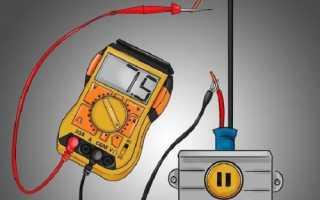 Как замерить ток