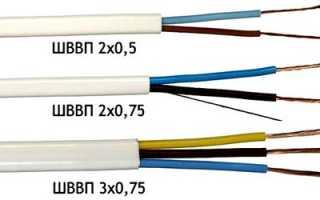 Формула сечения кабеля