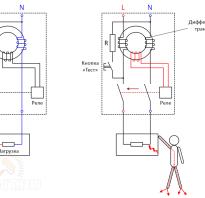 Правильное подключение узо и автоматов