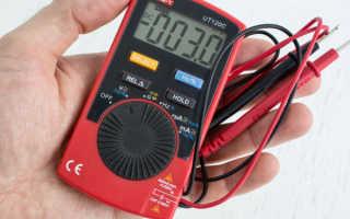 Как проверить тестером напряжение в сети 220
