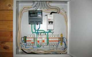 Электро щиты вводные в частный дом
